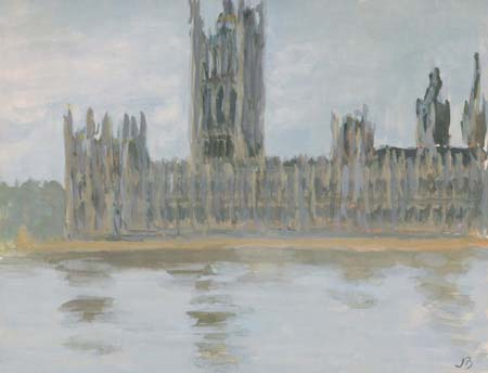 Watercolor of the House of Parliament